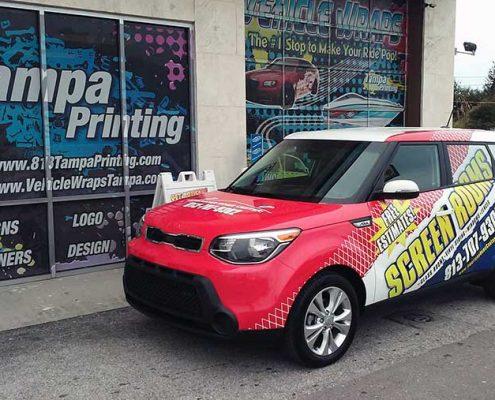 SUV Wraps Tampa Printing Vehicle Wraps