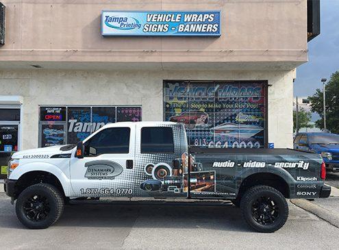 Fleet Wraps Tampa Printing Vehicle Wraps