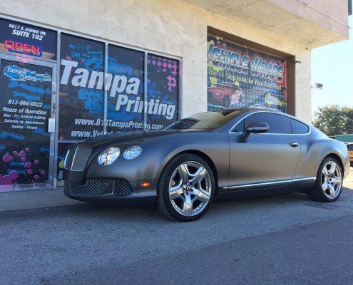 Color Change Car Wraps Tampa Printing Vehicle Wraps
