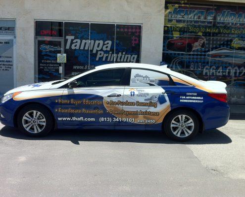 Car Wraps Tampa Printing