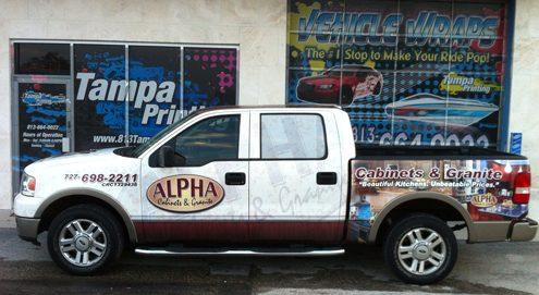 Truck Wraps Tampa Printing Vehicle Wraps