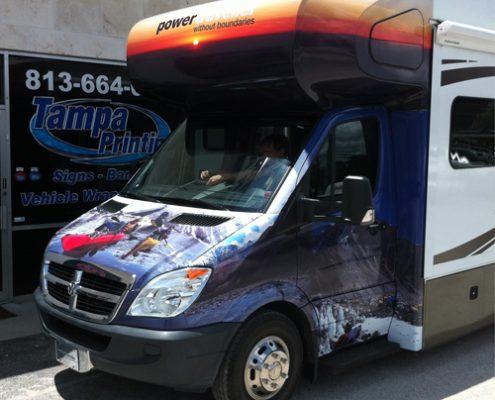 Motor Home Wraps Tampa Printing Vehicle Wraps