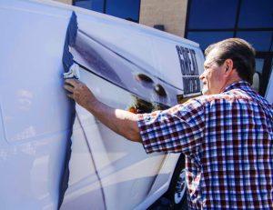 Vehicle Wrap Removal Tampa Printing