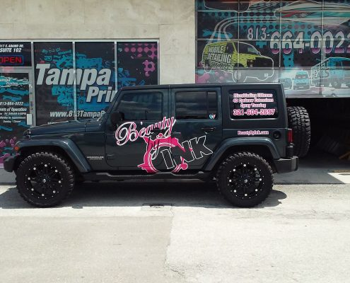 Jeep Wraps Tampa Printing Vehicle Wraps