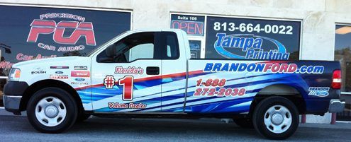 Fleet Wraps Tampa Printing Vehicle Wraps