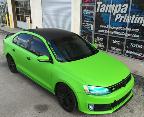 Color Change Car Wraps Tampa Printing Vehicle Wraps