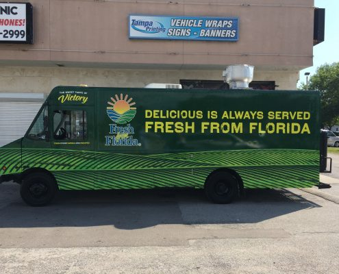 Food Truck Wraps Tampa Printing Vehicle Wraps