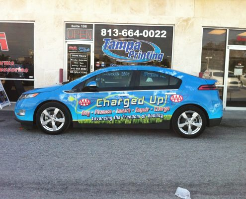 Car Wraps Tampa Printing