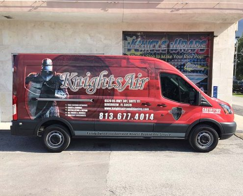 Van Wraps Tampa Printing Vehicle Wraps