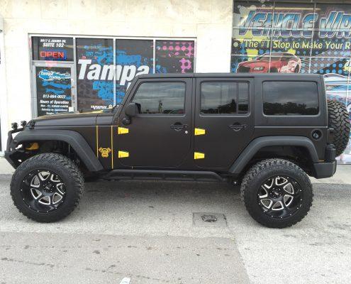 Jeep Wraps Tampa Printing Vehicle Wraps
