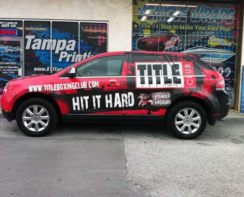 Vehicle Wraps-Vinyl Banners-Printing Services-Signs-Fast