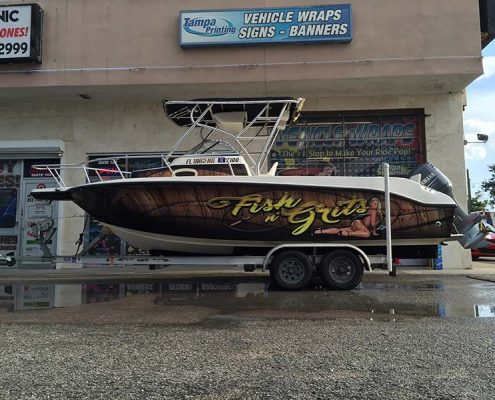 Boat Wraps Tampa Printing Vehicle Wraps