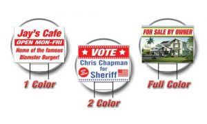 Yard Signs from Tampa Printing