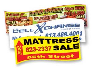 Durable Vinyl Banners