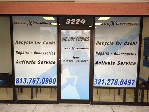 Store Wraps Tampa Printing