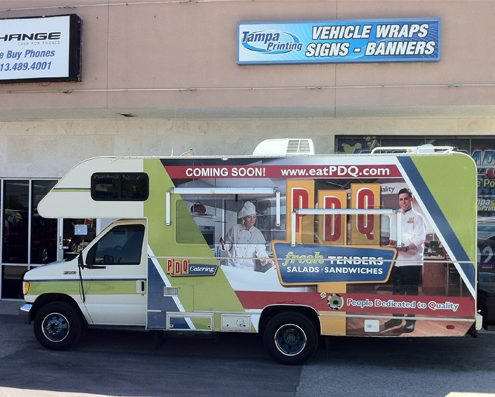 Motor Home Wraps Tampa Printing Vehicle Wraps