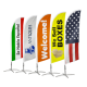 Tear Drop Flags Tampa Printing