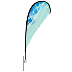 Teardrop Flag from Tampa Printing